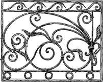 Dekoratives Architekturdetail Stockbild