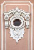 Dekoratives barockes Detail Stockbild