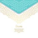 Dekoratives dekoratives Element des Vektors Lizenzfreie Stockfotos