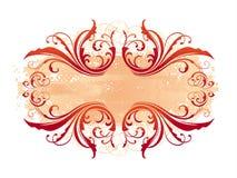 Dekoratives dekoratives Feld Stockbilder