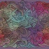 Dekoratives dekoratives nahtloses Muster Stockbild