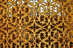 Dekoratives Detail des historischen Brunnens von Hagia Sophia Stockbild
