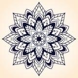 Dekoratives Element für Design Ethnisches Muster Runde Mandala von Linien Vektor I Stockbilder