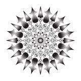 Dekoratives Element f?r Design Dekorative Elemente der Weinlese Orientalisches Muster, Illustration Islam, Arabisch, Inder, Marok stock abbildung