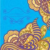 Dekoratives Element, Spitzensaum. Frühlingsfarben. Vektor ENV 10 lizenzfreie abbildung