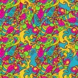 Dekoratives Elementmuster Abstrakte Karte eps10 Stockbild