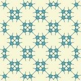 Dekoratives, empfindliches Muster Lizenzfreies Stockbild