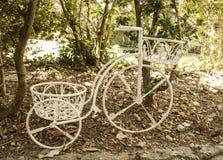 Dekoratives Fahrrad Stockfotos