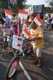Dekoratives Fahrrad Lizenzfreie Stockfotografie