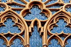 Dekoratives Fenster der Kirche in Deutschland Lizenzfreie Stockfotografie