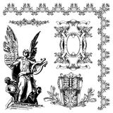 Dekoratives Gestaltungselement von Lemberg historisch Stockbild
