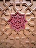 Dekoratives hölzernes Panel Stockbild