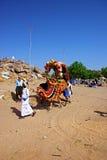 Dekoratives Kamel für Miete Lizenzfreie Stockfotografie