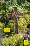 Dekoratives Kreuz Stockbild