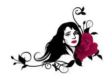 Dekoratives Mädchen Lizenzfreies Stockfoto
