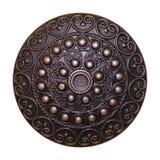 Dekoratives Metallschild Stockbilder