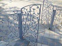 Dekoratives Metalltor Stockbilder