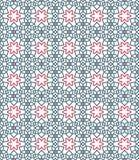 Dekoratives Muster Arabisches nahtloses Muster lizenzfreie abbildung