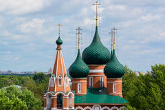 Dekoratives Muster auf Kirche des Erzengels Michael Lizenzfreies Stockfoto