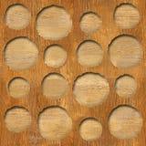Dekoratives Muster der Blase - abstraktes Täfelungsmuster lizenzfreie abbildung