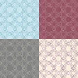 Dekoratives Muster der Weinlese Stockbilder