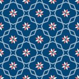 Dekoratives Muster für den Hintergrund, die Fliese und die Gewebe lizenzfreie stockfotografie