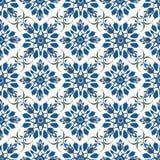 Dekoratives Muster Türkischer nahtloser Hintergrund Stockfoto