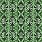 Dekoratives nahtloses Muster Ost-, orientalisches Design, ethnische Art Vektorhintergrund der Mandala Islam, Arabisch, Inder, Osm Stockfoto