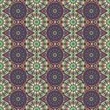 Dekoratives nahtloses Muster Ost-, orientalisches Design, ethnische Art Vektorhintergrund der Mandala Islam, Arabisch, Inder, Osm Lizenzfreies Stockfoto
