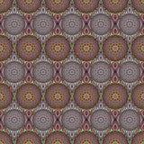 Dekoratives nahtloses Muster Ost-, orientalisches Design, ethnische Art Vektorhintergrund der Mandala Islam, Arabisch, Inder, Osm Stockbilder