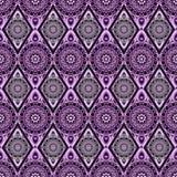 Dekoratives nahtloses Muster Ost-, orientalisches Design, ethnische Art Vektorhintergrund der Mandala Islam, Arabisch, indisch Lizenzfreies Stockfoto