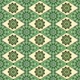 Dekoratives nahtloses Muster Ost-, orientalisches Design, ethnische Art Vektorhintergrund der Mandala Islam, Arabisch, indisch Lizenzfreie Stockfotografie