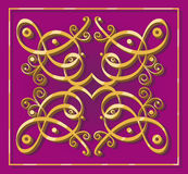 Dekoratives orientalisches Element Lizenzfreies Stockfoto