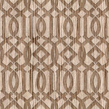 Dekoratives orientalisches Muster - Innenarchitekturtapete Stockbild