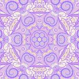 Dekoratives purpurrotes Muster Lizenzfreie Stockfotografie