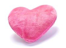 Dekoratives rosafarbenes Kissen Lizenzfreie Stockfotografie