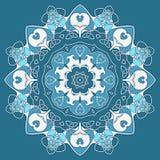Dekoratives rundes keltisches Muster Lizenzfreies Stockfoto
