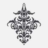 Dekoratives sylized Gestaltungselement Stockbild