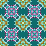 Dekoratives traditionelles Muster Stockfoto
