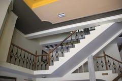Dekoratives Treppenhaus des modernen Hauses Lizenzfreies Stockbild