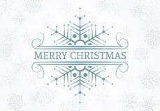 Dekoratives Weihnachtsgestaltungselement Lizenzfreie Stockfotografie