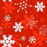 Dekoratives Winter Weihnachtsnahtlose Beschaffenheit Lizenzfreies Stockbild