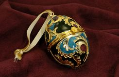 dekorativt ägg Royaltyfri Fotografi