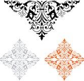 dekorativt royaltyfri illustrationer