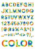 dekorativt alfabet Arkivfoto