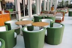 Dekorativt av stolar Arkivbilder