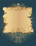 dekorativt baner Royaltyfria Bilder
