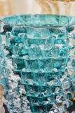 Dekorativt bearbeta för exponeringsglas Arkivbild