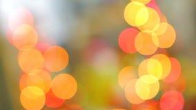 Dekorativt blinka tänder att skapa oerhörd ferieandeatmosfär lager videofilmer