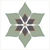 Dekorativt blom- element Fotografering för Bildbyråer